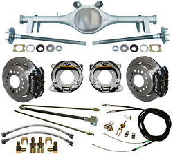 Currie 64-66 Gm A-body Rear End And Wilwood Disc Brakeslinese-brake Cablesaxles