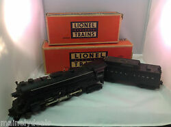 LIONEL 2055  HUDSON STEAM LOCOMOTIVE and 6026W WHISTLE TENDER IN BOXES TRAINS
