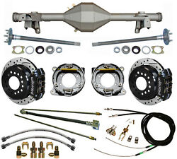 Currie 82-92 Gm F-body Rear End And Wilwood Drilled Disc Brakes,black,lines,cables