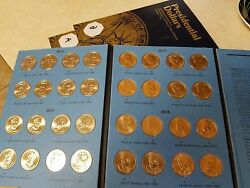 Volume 2 Complete Set X2 Pandd And Aandb 2012-2016 Presidential Gold Dollar 76 Coins