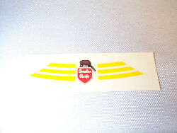 Lionel F3 A-unit Canadian Pacific Water Slide Nose Decal 2373 1 Piece Nos