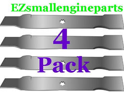 4 Pack Of Blades For John Deere Gx22151, Gy20850, 11593, 330-441, 50-3231 Usa