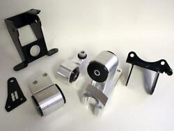 Hasport Stock Replacement Motor Mount Kit For 06-11 Honda Civic Si 62a