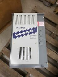 Square D 8804 1aca4h A Omegapak 5 - 10 Hp 460 V Adjustable Frequency Controller