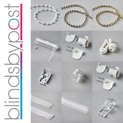 Roman Blind Parts Spare And Accessories - Chains Brackets Tape Cords Controls