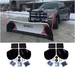 2 New Snow Plow Pro-wing Blade Extensions For Buyers Sam Pw22 Commercial Grade