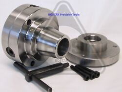 Bostar 5c Collet Lathe Chuck Closer With Semi-finished Adp. 1-1/2 X 8 Thread