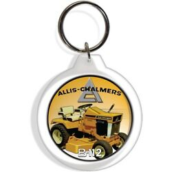 Allis Chalmers B12 Tractor Engine Key Fob Ring Keychain Ignition Starter