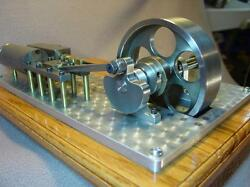 Steam Engine Plans Only Horizontal Mill Type Lathe Cnc Live Kit Model Air Toy