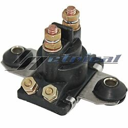Switch Relay Solenoid Fits Mercruiser Outboard 12 Volt 4-terminal Isolated Base