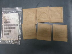 New Surplus Aircraft Aviation O Ring Seal Packing X6 Ms28775-218
