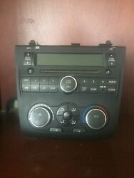 10-12 Nissan Altima Radio Cd with Climate Control