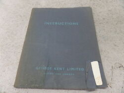 Kent Aircraft Fuel Meters Description And Instructions For Installation