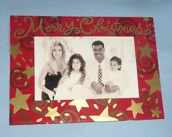 Junior Jr Seau And Gina Family Original 1990and039s Christmas Card Chargers Football 2
