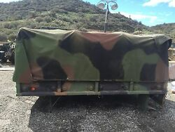 M35a2 M35a3 Cargo Bed With Cover And Roll Cage.