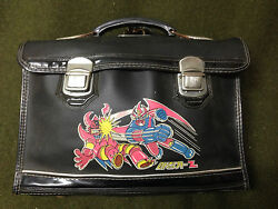 RARE 1970'S Great Mazinger Korea Elementary School Bag Student Book Bag Backpack