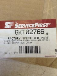 TRANE GKT02766 GASKET;SUCTION COVER (NON-ASBESTOS) R-123 COMPATIBLE LAKJK