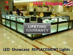 Showcase And Display Case Replacement Lighting Kit - Antique Or Jewelry - 4 Ft.