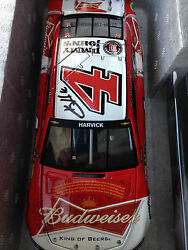 4 Kevin Harvick Signed 2015 Budweiser Chevy Ss 124 Car