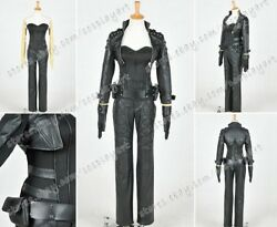 Green Arrow Cosplay Black Canary Sara Lance Costume Outfit Full Set High Quality