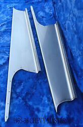 Chevrolet Chevy Master Car Steel Running Board Set 1935-1936 - Made In Usa