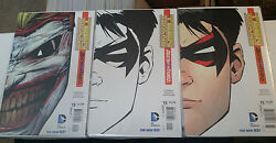 Teen Titans 15 New 52 Vhtf News Stand Direct And Sketch Lot Unread