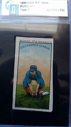1888 N321 S F Hess And Co Buckley - Haverlys - California League Type 3 Card -