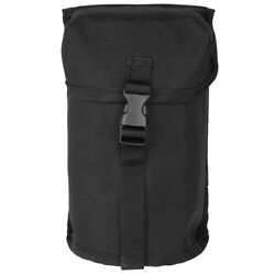 Military Canteen Pouch British Army Style Molle Webbing Airsoft Hydration Black