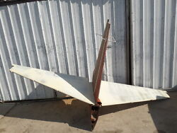 Mooney M20k 231 Aircraft Tail Feathers Horizontal Vertical Stabilizer