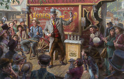 The Snake Oil Salesman Morgan Weistling Limited Edition Giclee Canvas