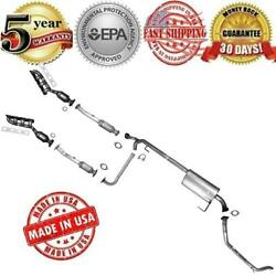 Complete Muffler Exhaust System And Converter For Nissan Titan 2004-2006 5.6l