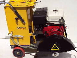New Packer Brothers 16 Walk-behind Concrete Saw Honda