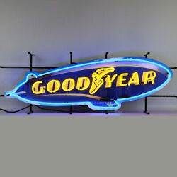 32 Goodyear Neon Sign Licensed Tires Garage Wall Lamp Light Good Year Blimp