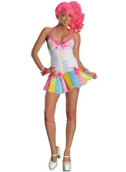 Womans Adult XS S M Sexy Sweet Treat Candy Girl Costume $49.99