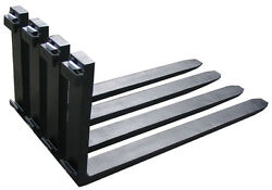 Forklift Forks Pair 2.5x6x72 Class 4 Iv Set 6 Ft Feet 72 Inch 20,000 Lbs Capaci