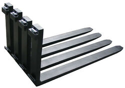 Forklift Forks Pair 2.5x6x72 Class 4 Iv Set 6 Ft Feet 72 Inch 20000 Lbs Capaci