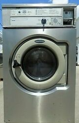Wascomat Front Load Stainless Steel Washer Coin Op, 3ph, Model W630 [refurb]