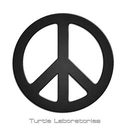 36 Peace Sign Metal Wall Art Hanging Home Decor Hippie Love Vw