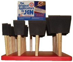 New Poly-brushes And Rollers Jen Brush Pbd Brush Assortment Display