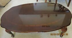Queen Anne Coffee Table Living Room