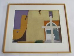 Mary Silverwood Large Original Framed Oil Pastel