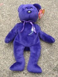 The Princess Diana Ty Beanie Baby -w/ Tag And In Mint Condition