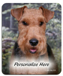 Welsh   Terrier  (5)    Personalized  Mouse Pad
