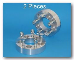 2 Pcs Wheel Spacer 5-4.5 5x4.5 Thickness:1.5
