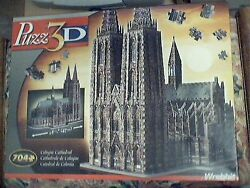 Wrebbit Puzz 3d Puzzle Foam - Cologne Cathedral - New Sealed Collectible
