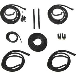 1962 Cadillac Series 62 And Deville 2dr Hardtops Body Weatherstrip Seal Kit