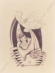Erwin Stolz 1896-1987 Three Kings, Drawing, 1920s