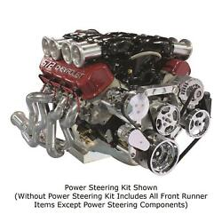 Front Runner Drive Serpentine Kit Bb Chevy Bright Ac, Alt, No Ps 175060-bca