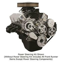 Front Runner Drive Serpentine Kit Sb Ford Bright Ac, Alt, No Ps 175103-sfa