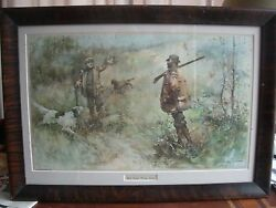 Rare Walter Granville Smith His First Wing Shot 1896. Very Rare